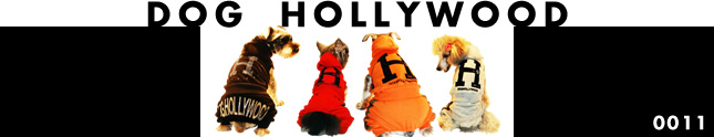 犬服のビックスマイル「DOG HOLLYWOOD」