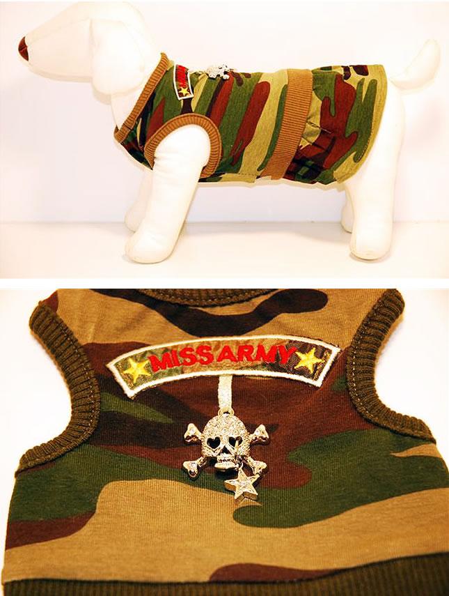 犬服のビックスマイル「Monkey Daze スカルモチーフワンピース」