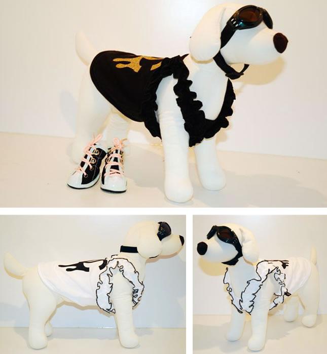 犬服のビックスマイル「セレブ パロディ キャミソール」