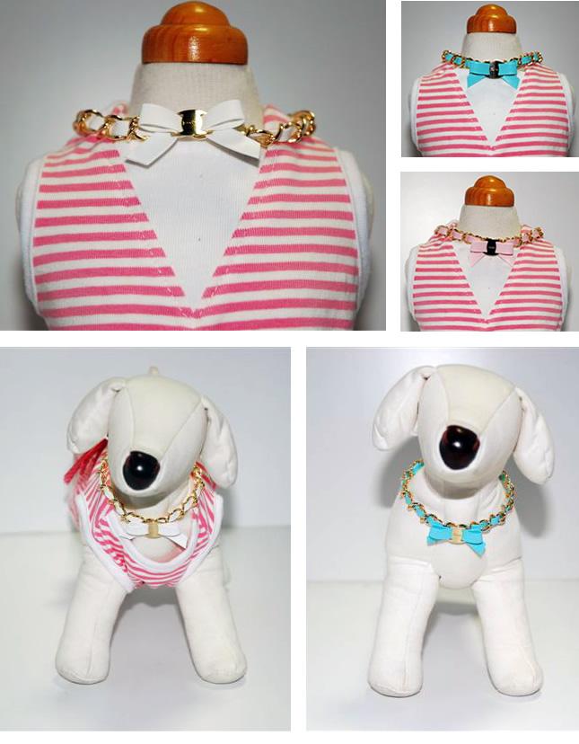 犬服のビックスマイル「ママとペアのアクセサリー」