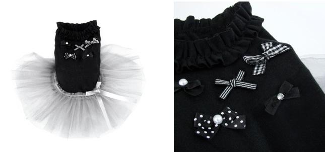 犬服のビックスマイル「Ballerina Dress[Louisdog]」