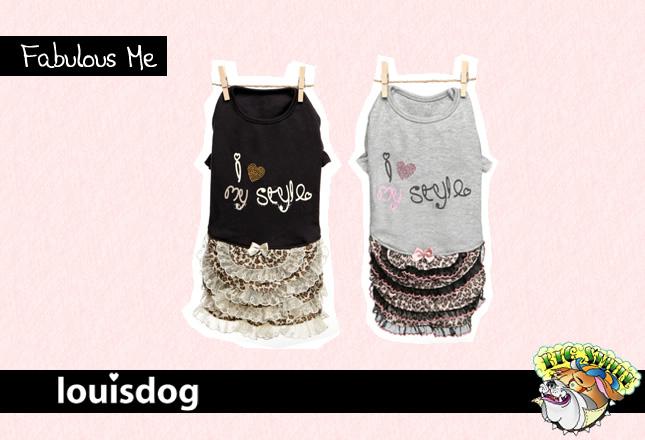 犬服のビックスマイル「Fabulous me[Louisdog]」