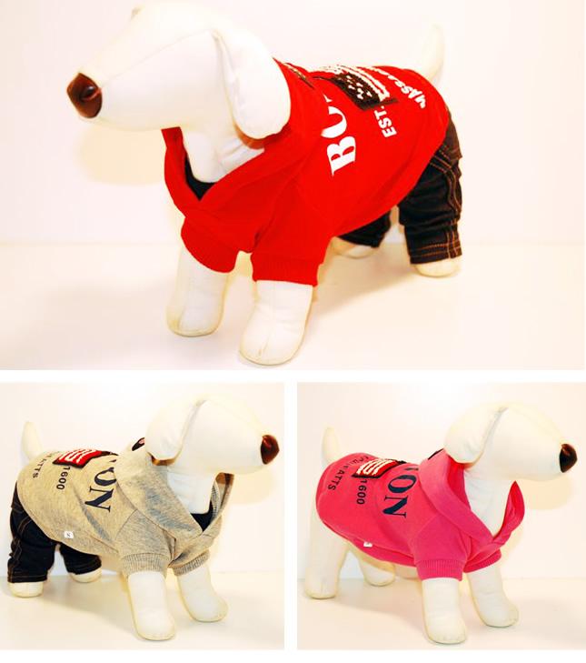 犬服のビックスマイル「BOSTON キュート トレーナー」