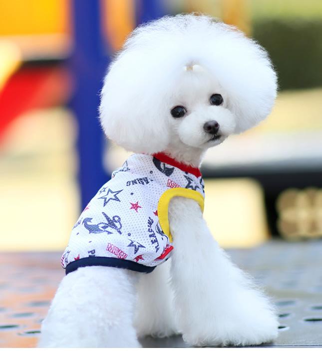 犬服のビックスマイル「クールアンカーメッシュタンクトップ」