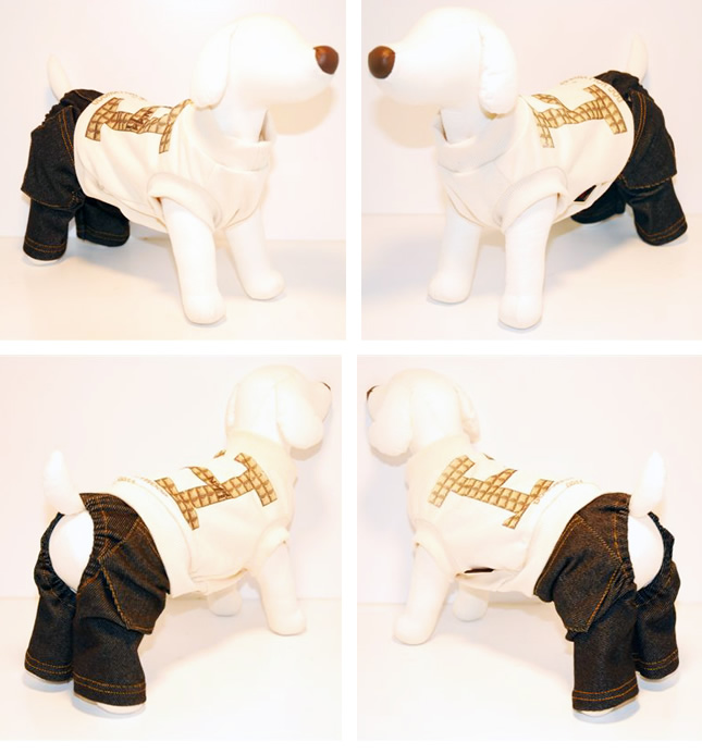 犬服のビックスマイル「[DOG HOLLYWOOD] Hなセレブロンパース!!」