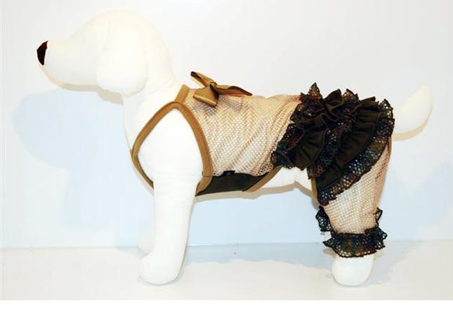 犬服のビックスマイル「アーミー COOLメッシュ ロンパース(つなぎ)」