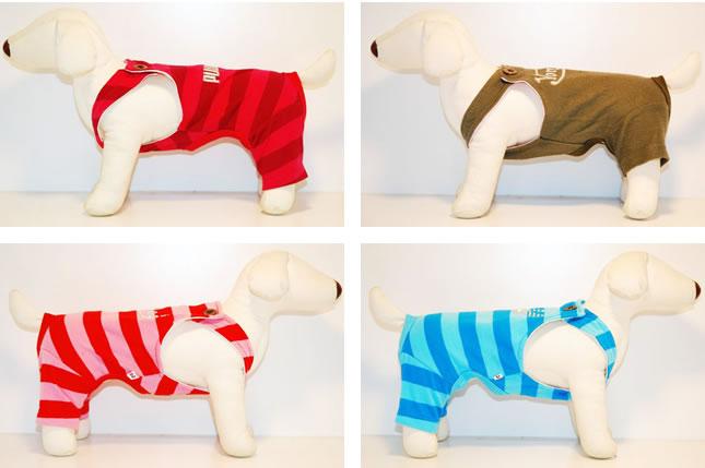 犬服のビックスマイル「パロディ キュートなつなぎ」